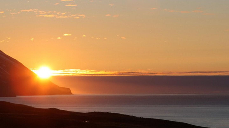 Midnight sun in Dalvik