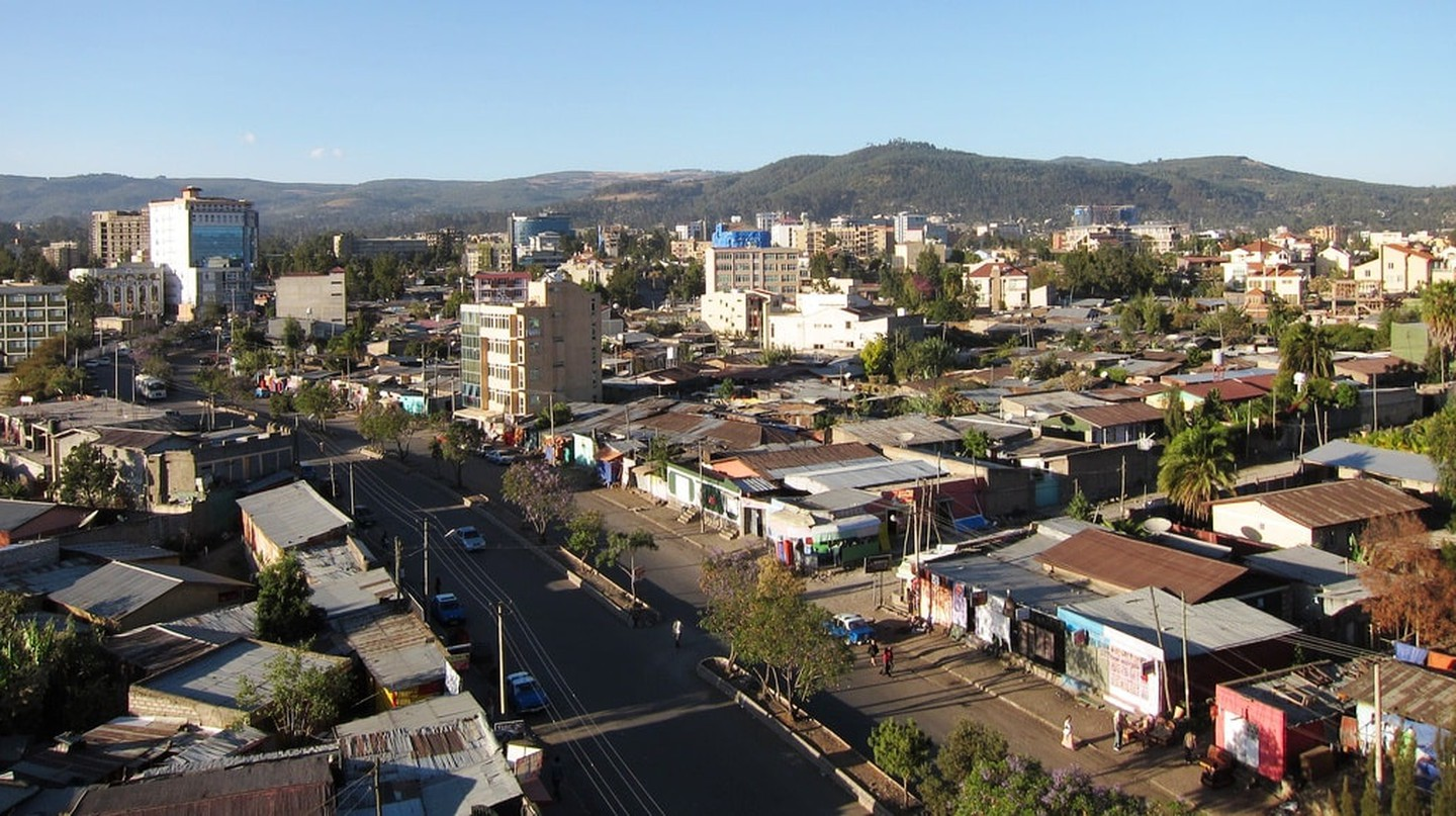 Addis Ababa, the capital city of Ethiopia