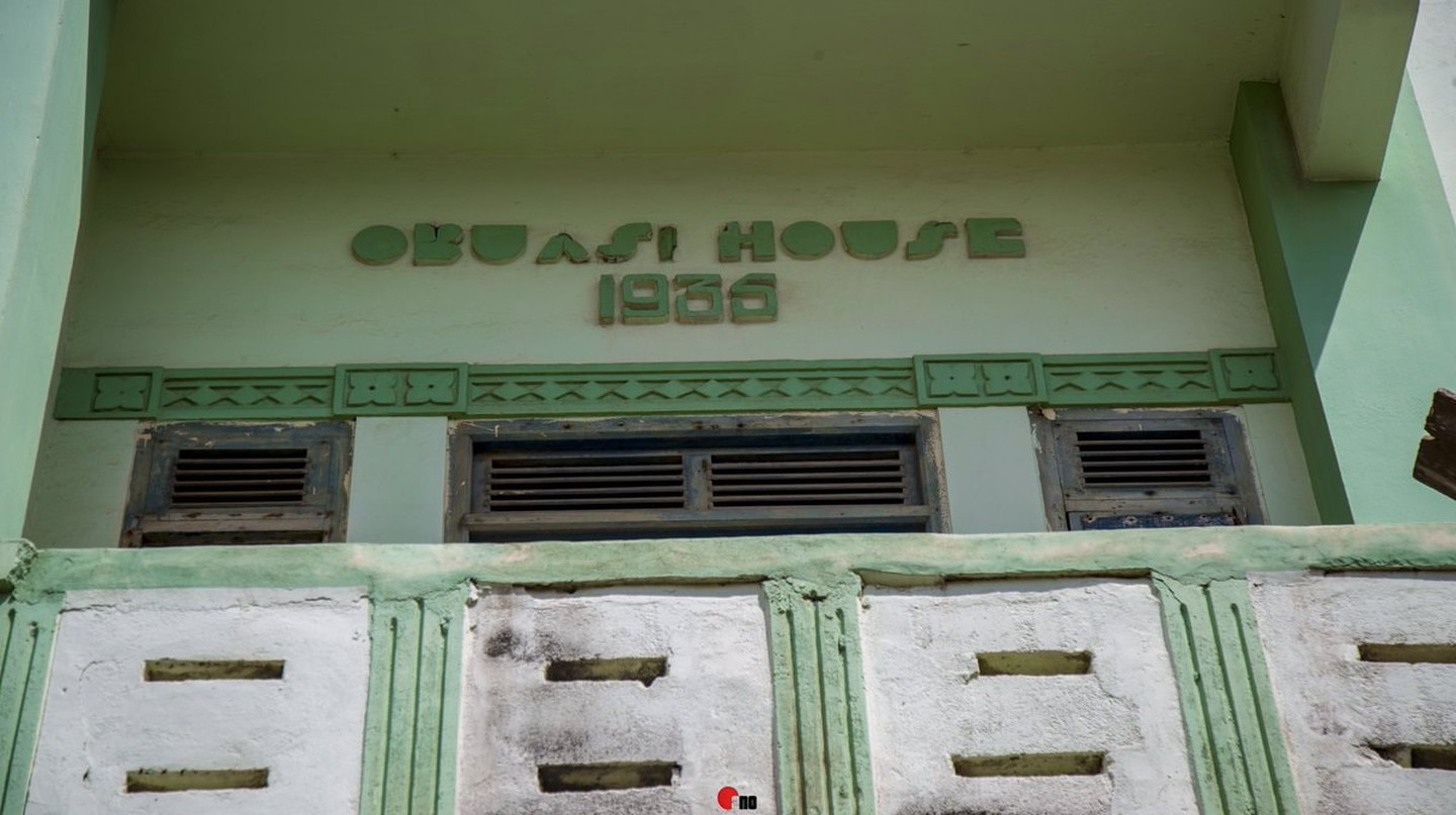 Obuasi House, built in 1935 by Joseph Edward Biney