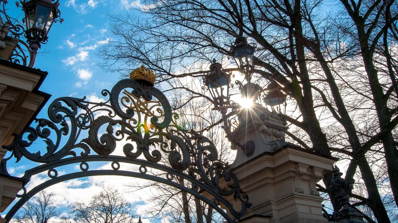 The gates of Catherine Palace