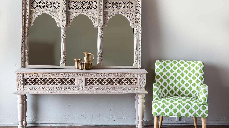 Beautiful vintage-looking furniture.