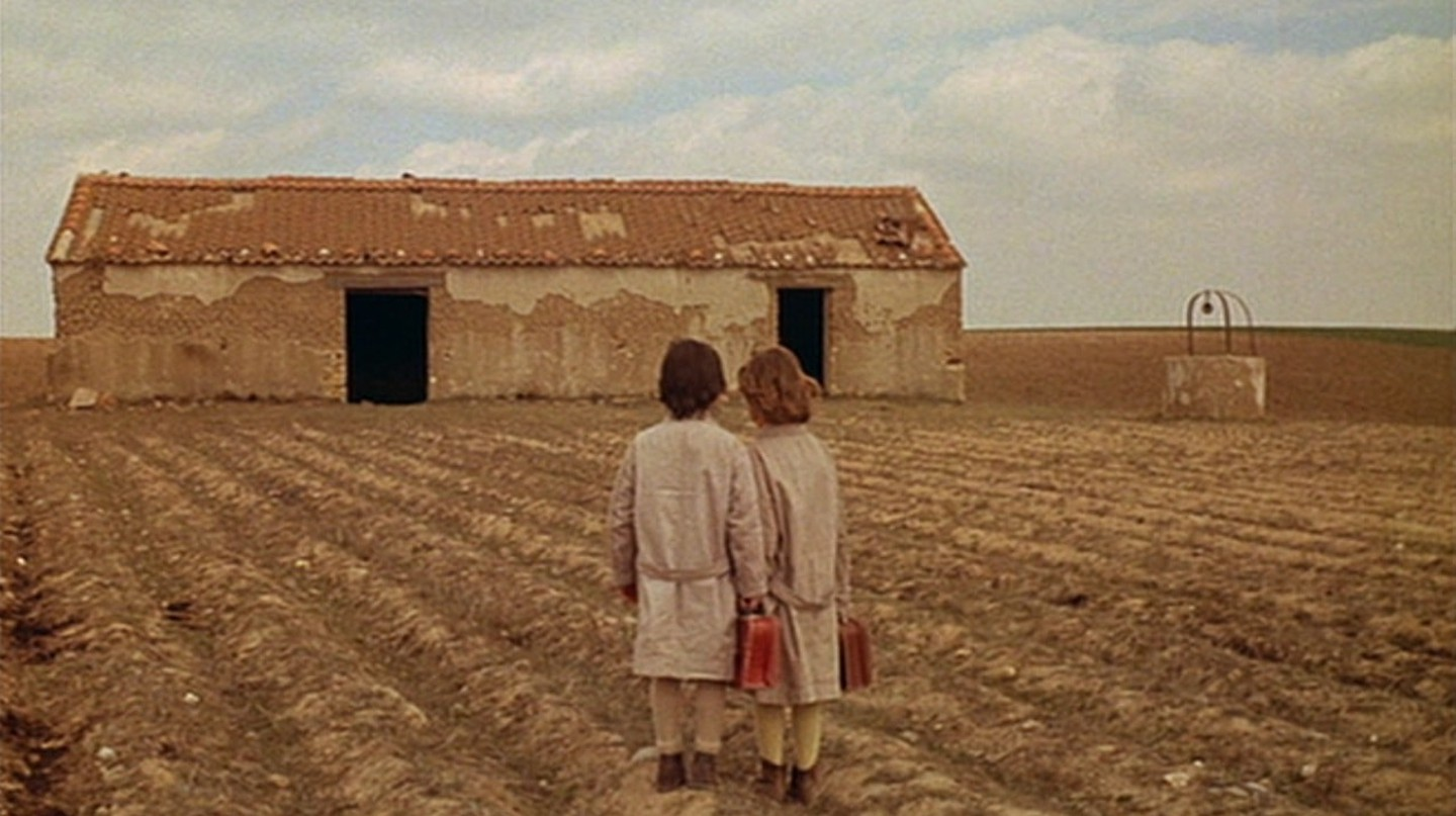 "Ana Torrent and Isabel Tellería in ""The Spirit of the Beehive"""