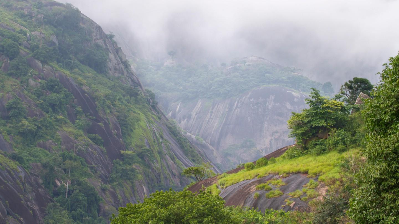 A mountain rain forest, Idanre, Ondo state, Nigeria.