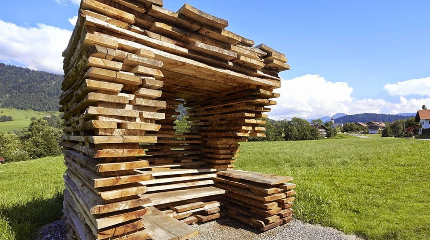 Krumbach: The Tiny Town With Bus Stops Designed by World-Renowned Architects
