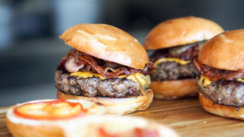 Delicious mini-burgers