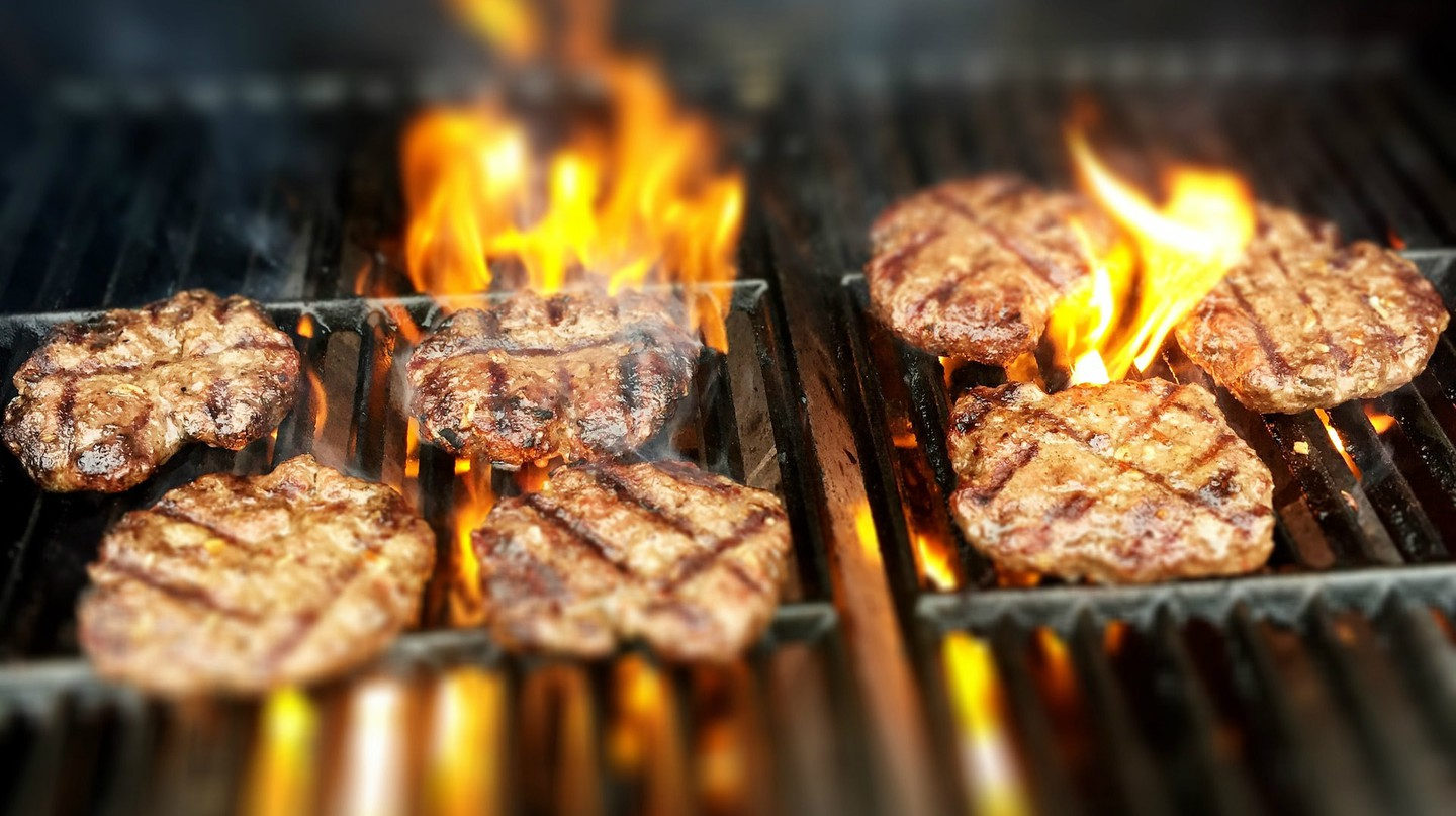 Tuck into a flame-grilled treat