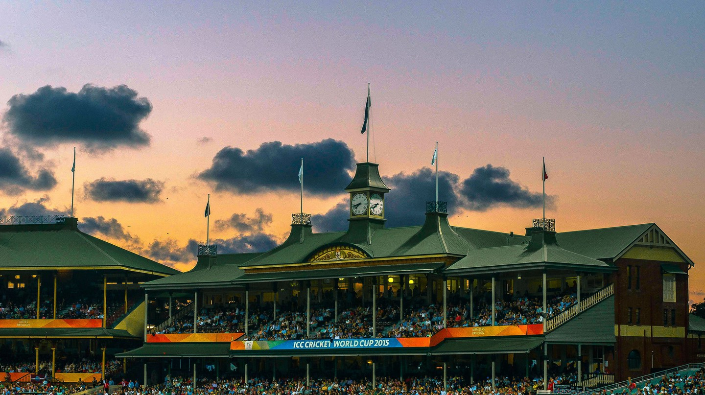 Cricket at the Sydney Cricket Ground