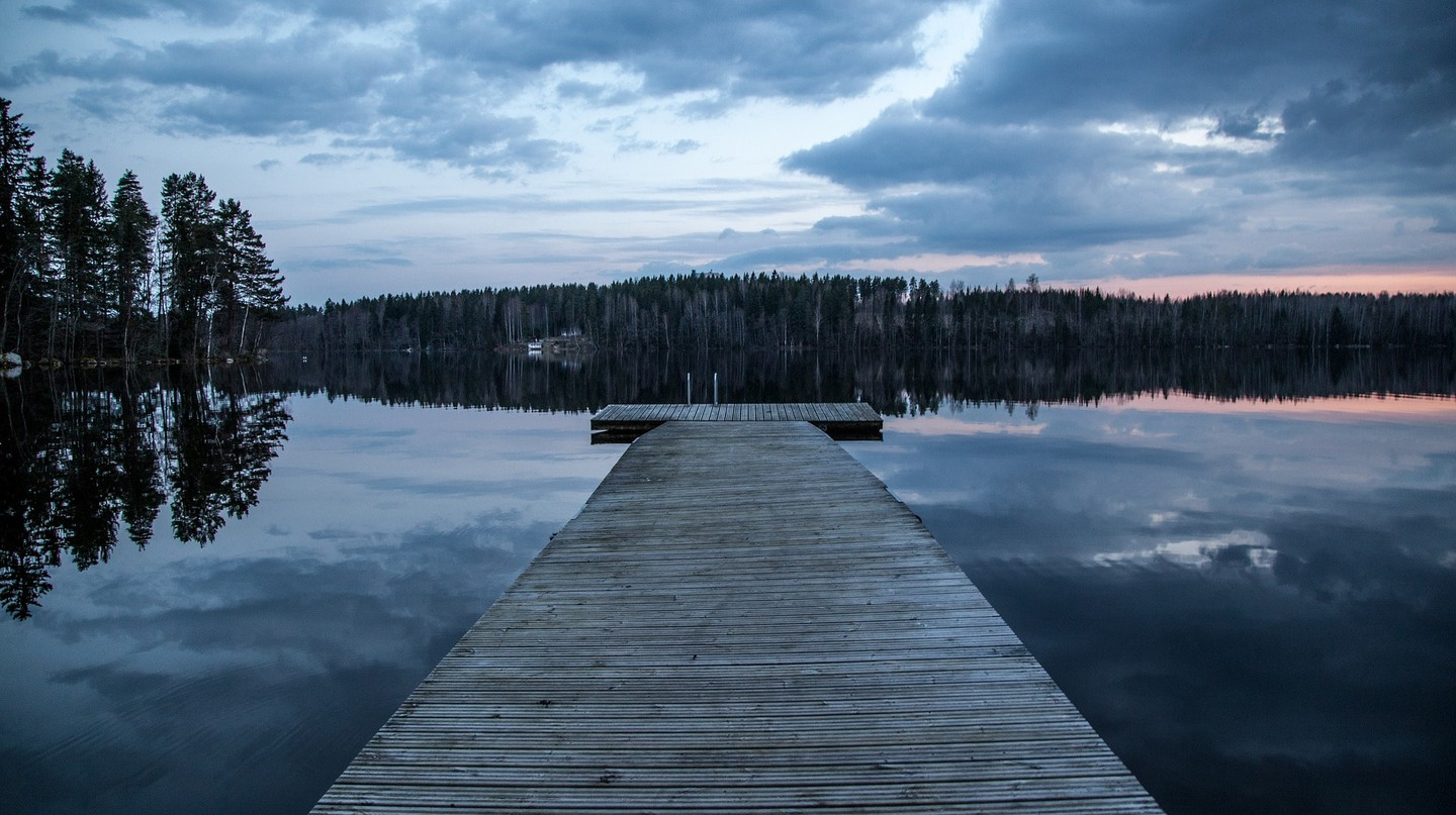 Lake in Finland, the perfect getaway