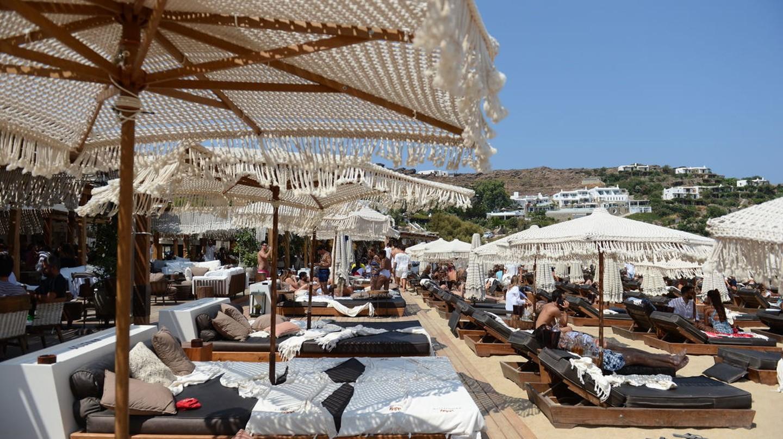 The best decadent beach clubs in Mykonos