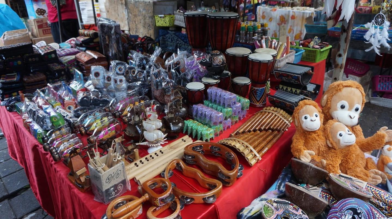 Souvenirs from Gaya Street Sunday market, Sabah