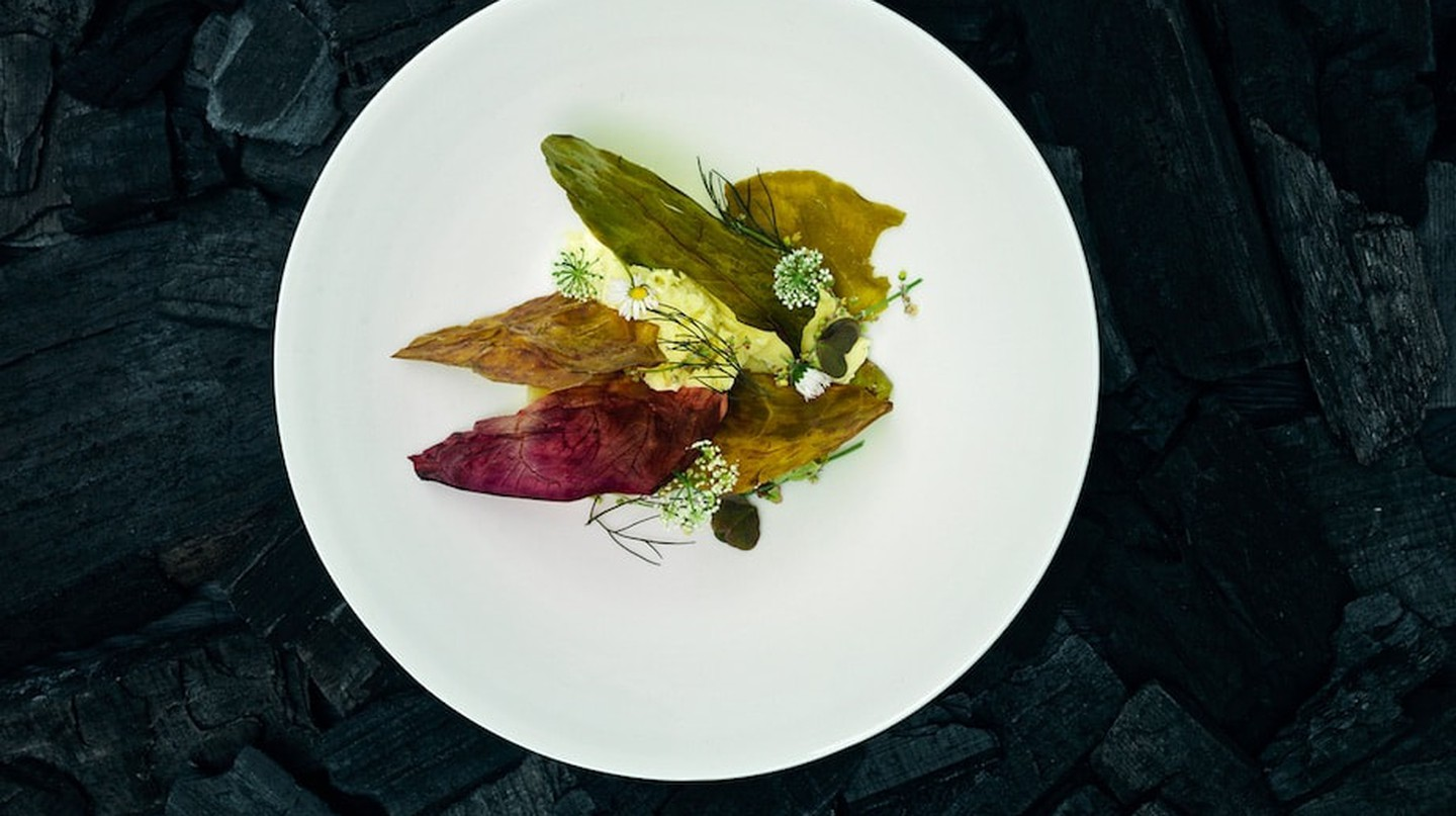 One of the delicate and delicious dishes at Einsunternull