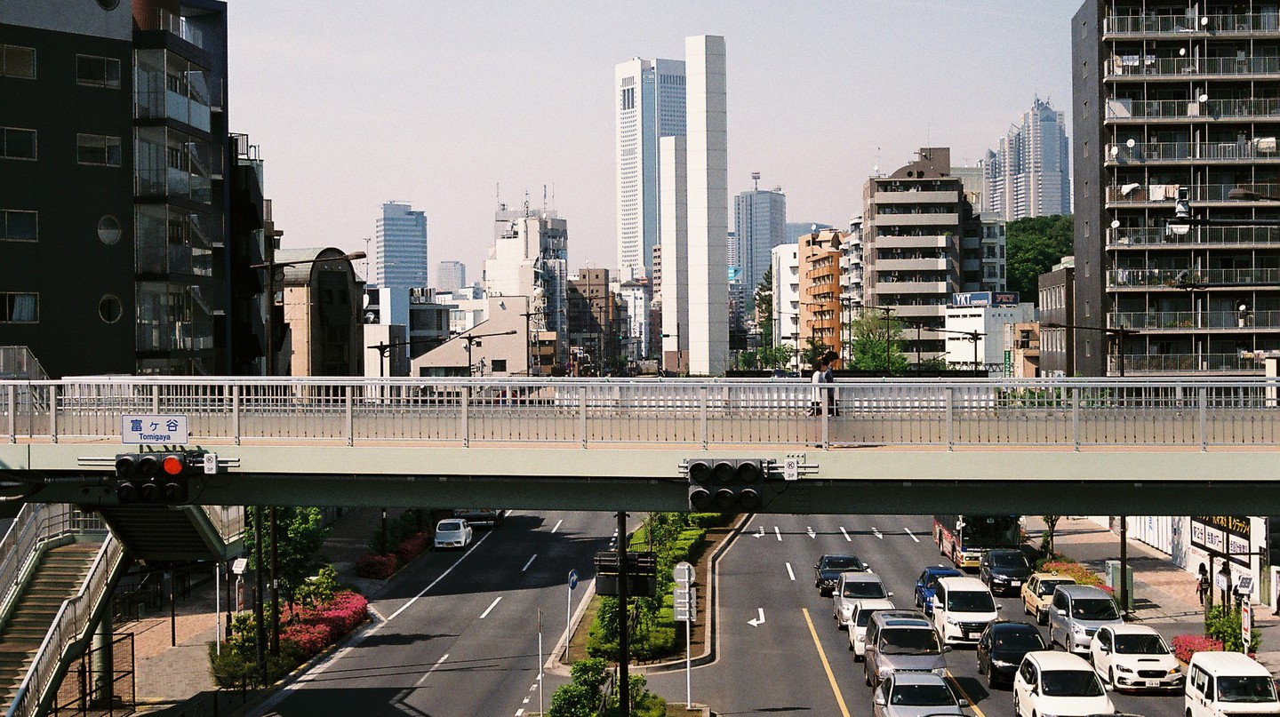 The streets of Tokyo