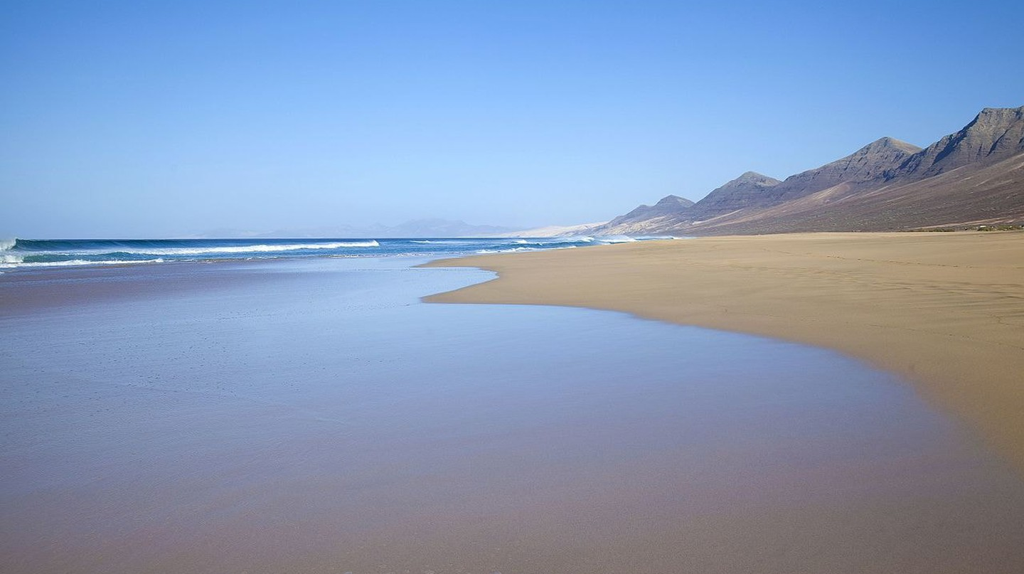 Fuerteventura is the oldest of the Canary Islands