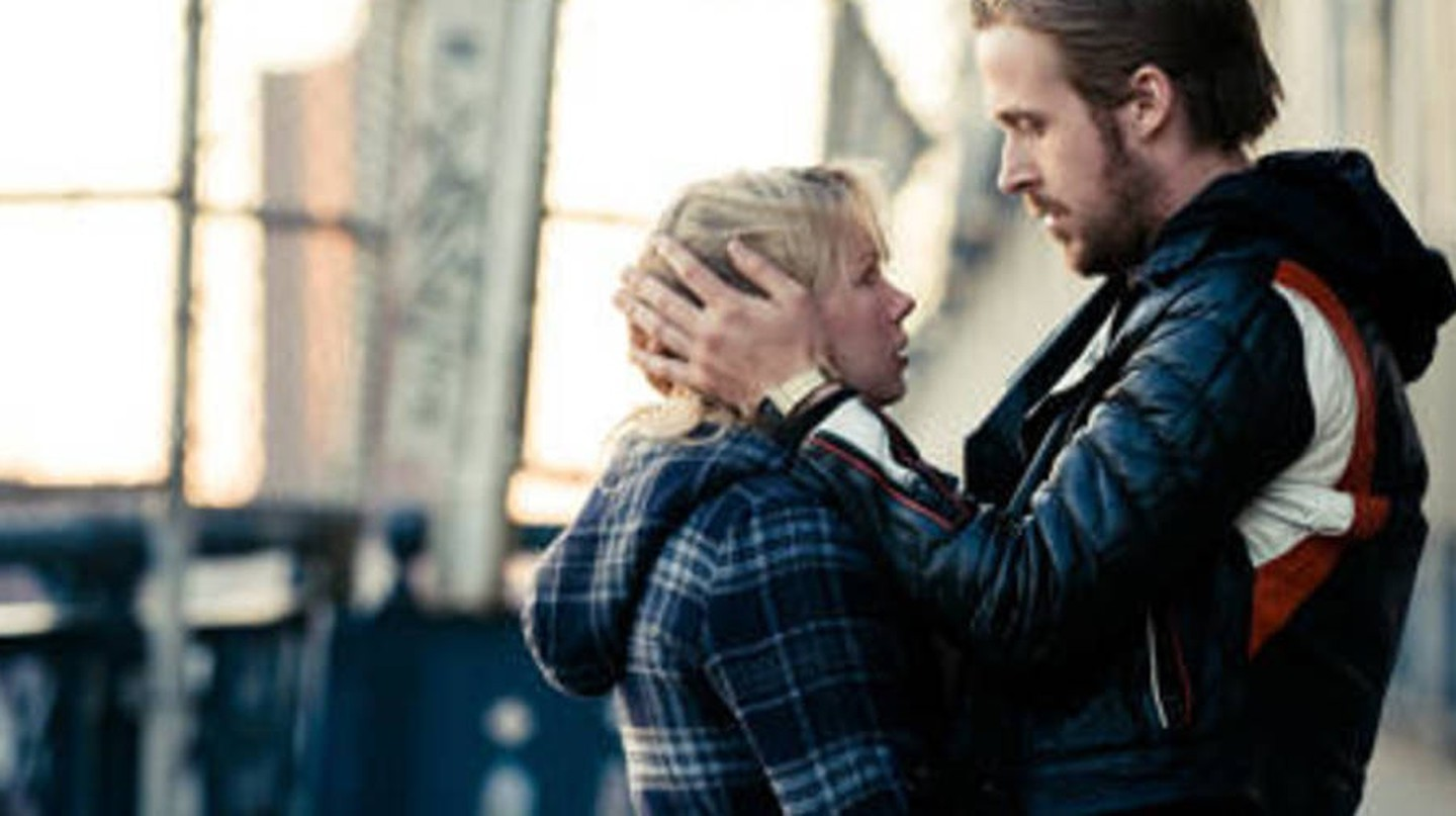 "Michelle Williams and Ryan Gosling in ""Blue Valentine"""