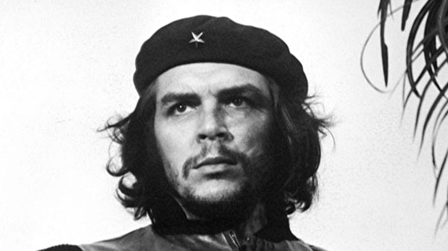 Che Guevara in his signature black beret