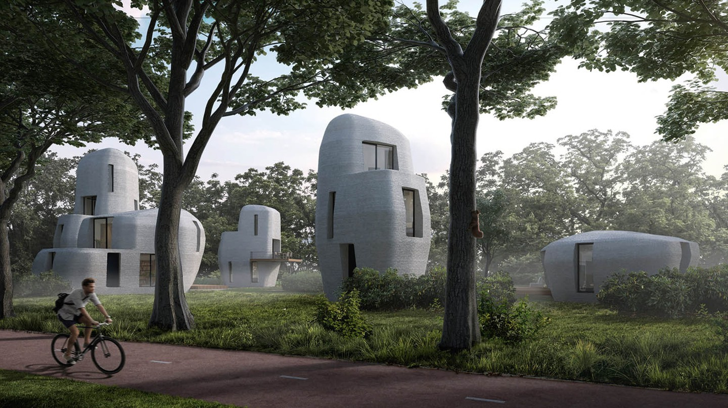 The World's First 3D-Printed Houses Are Coming to the Netherlands