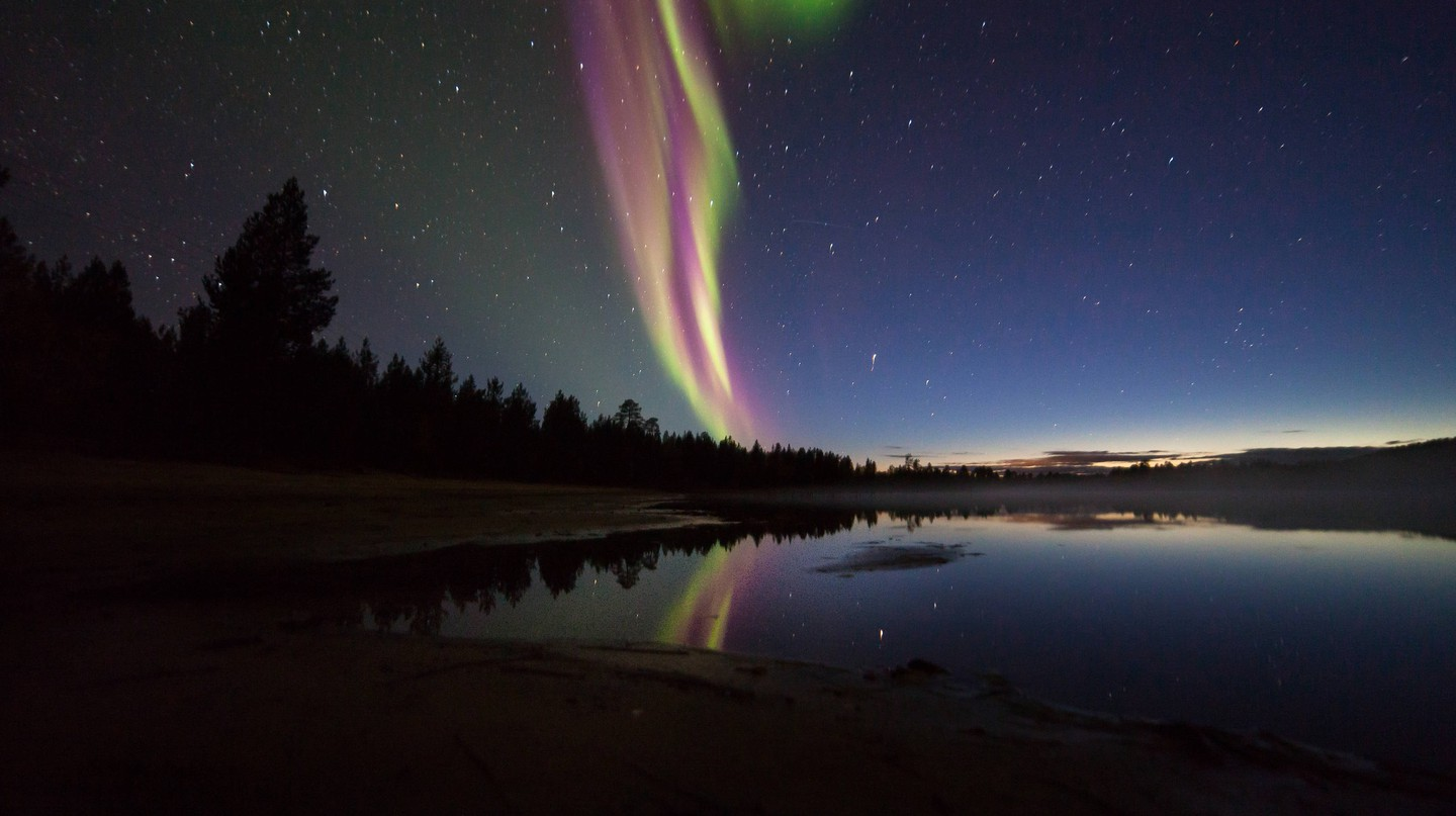 Spring and autumn are the best times to spot Northern Lights in Finland.
