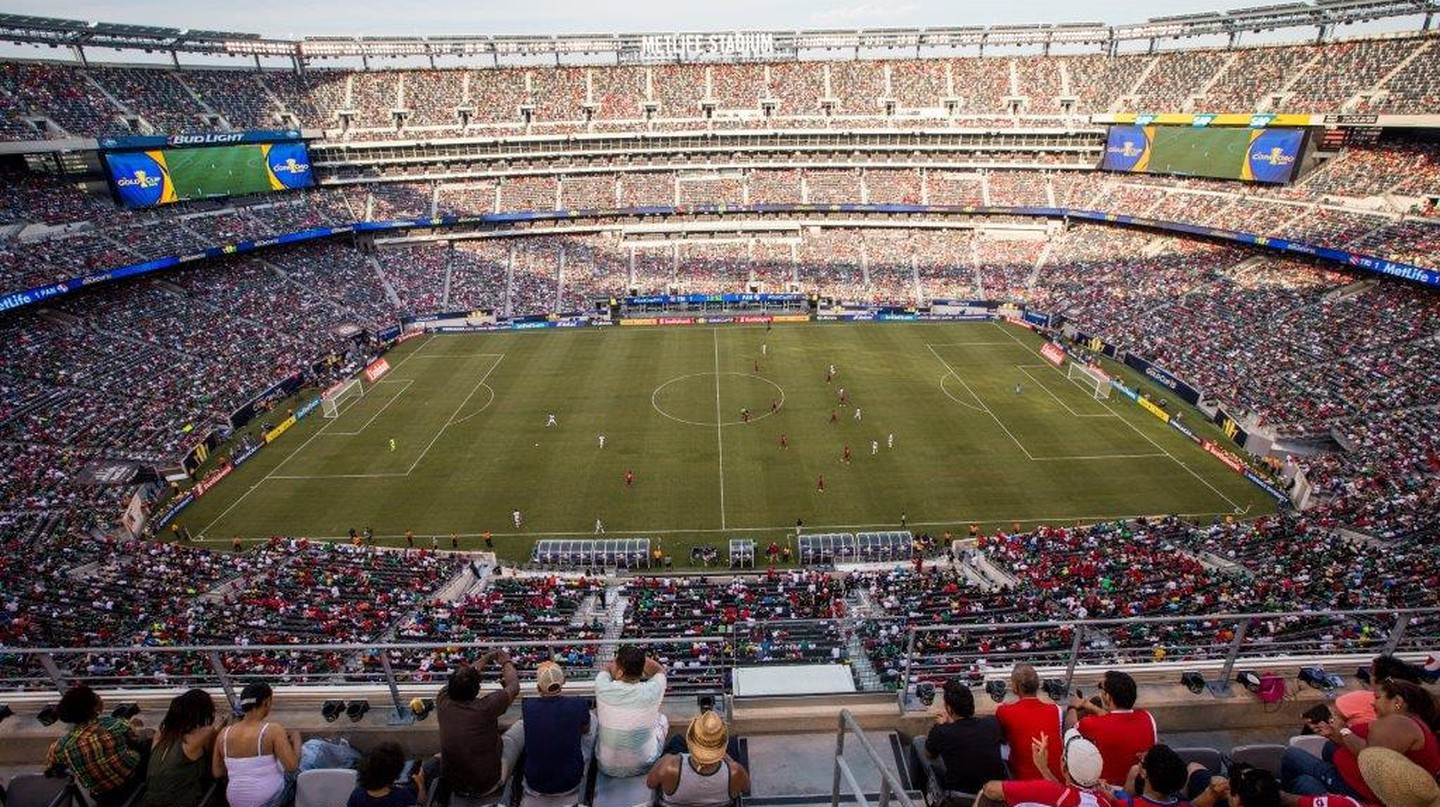 A 2015 CONCACAF Gold Cup match at MetLife Stadium