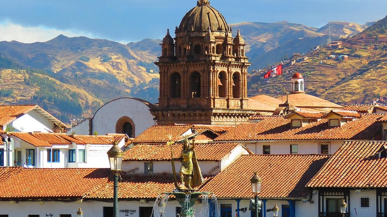 Cusco's beautiful city roofs