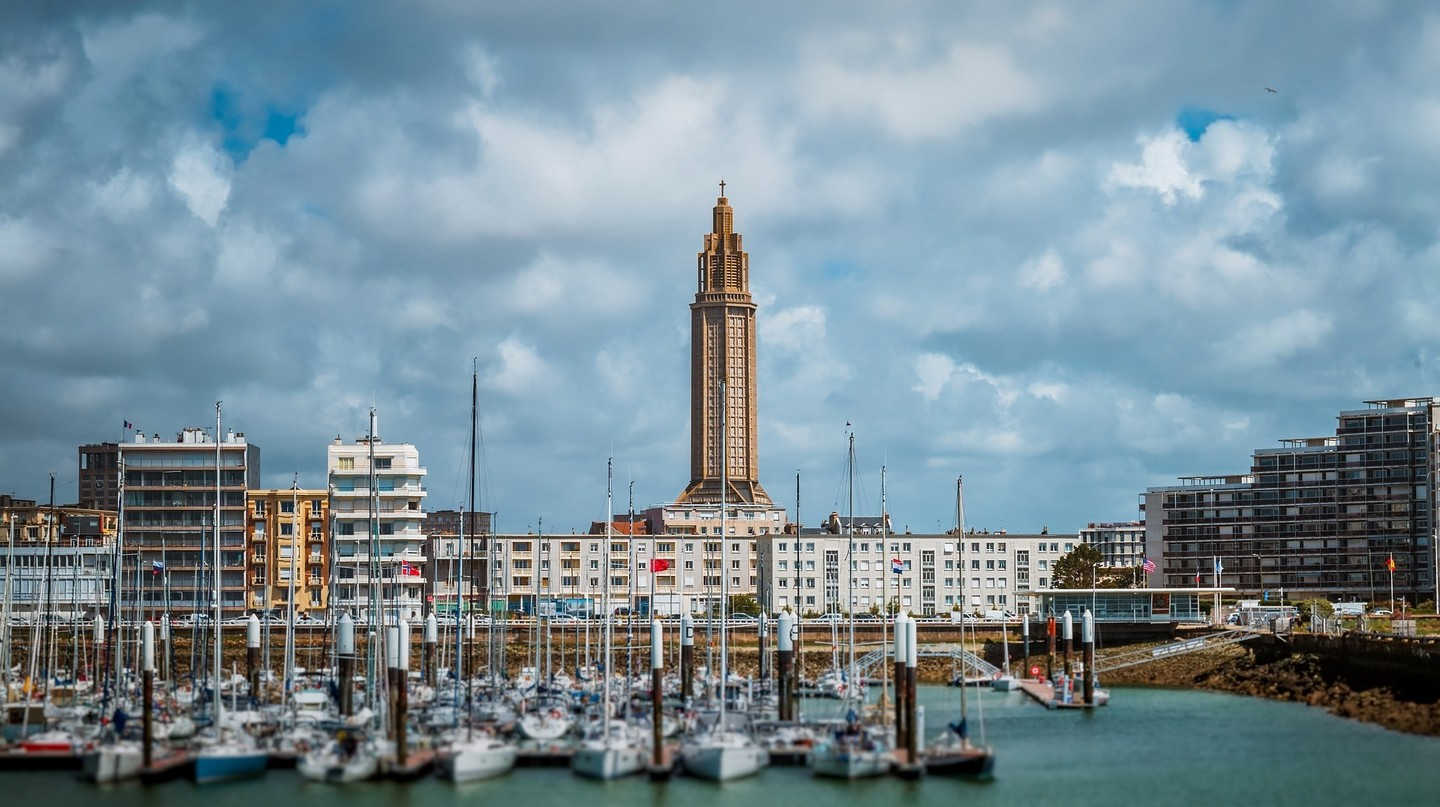 Le Havre in Normandy, France