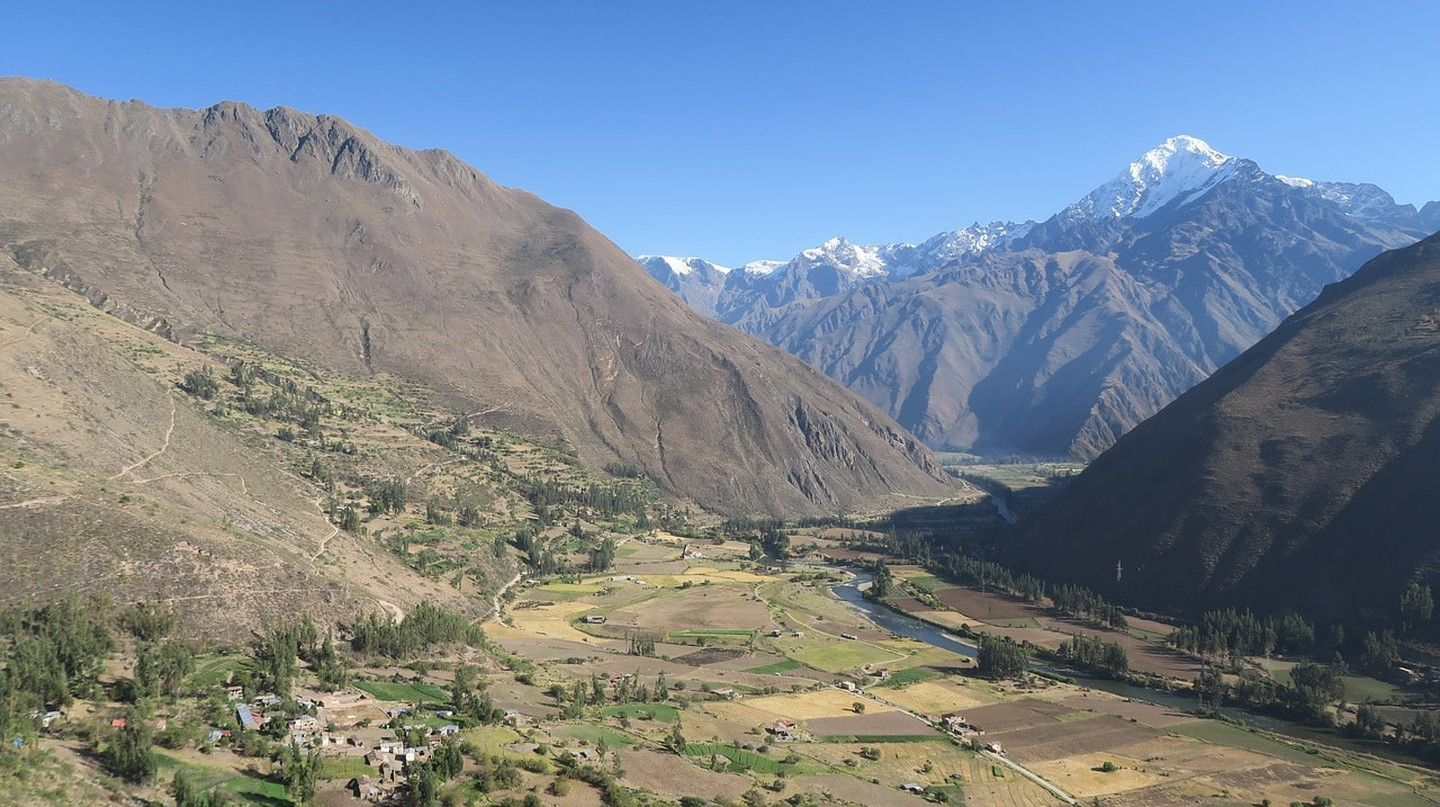 The Ollantaytambo Valley