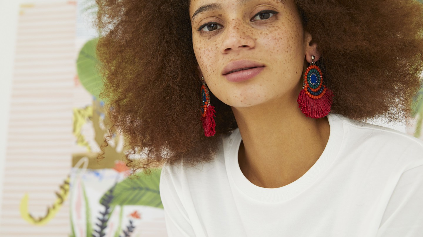 Oliver Bonas Wren Rafia Tassel Earrings, SS18, Barcelona Packing Guide