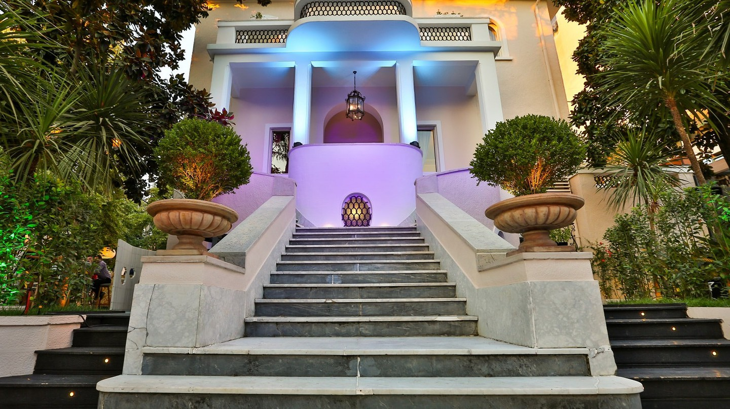 The entrance of Padam Boutique Hotel & Restaurant