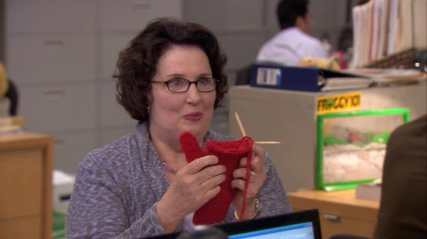 Phyllis Smith as Phyllis Vance in The Office