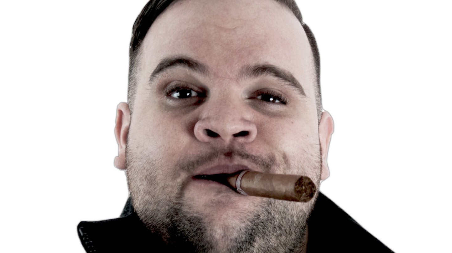 Portrait of Australian rapper Briggs