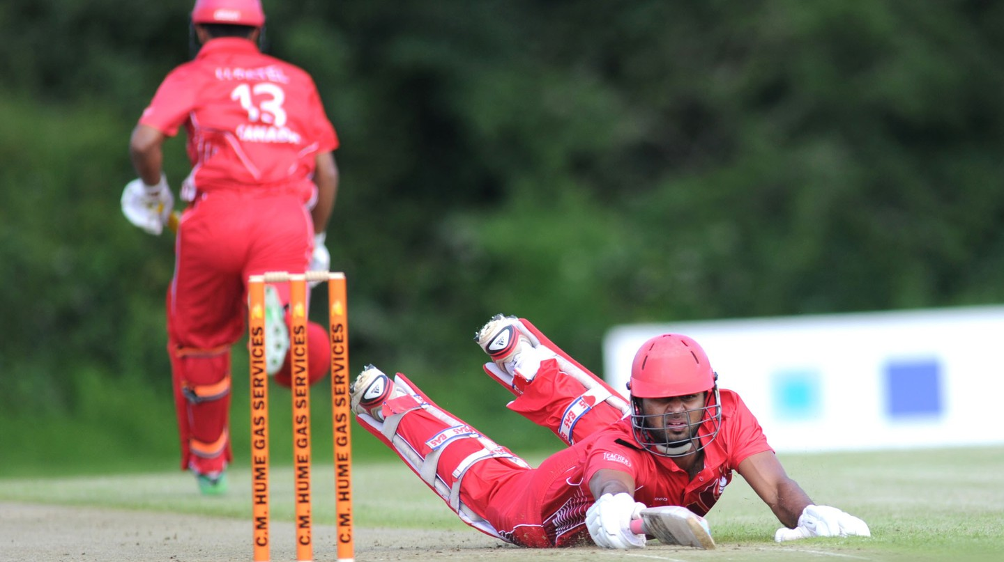 Scotland versus Canada, ICC World Cricket League, 2012