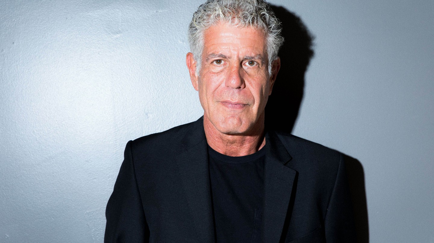 Anthony Bourdain TimesTalks with Anthony Bourdain, New York, USA - 05 Oct 2017