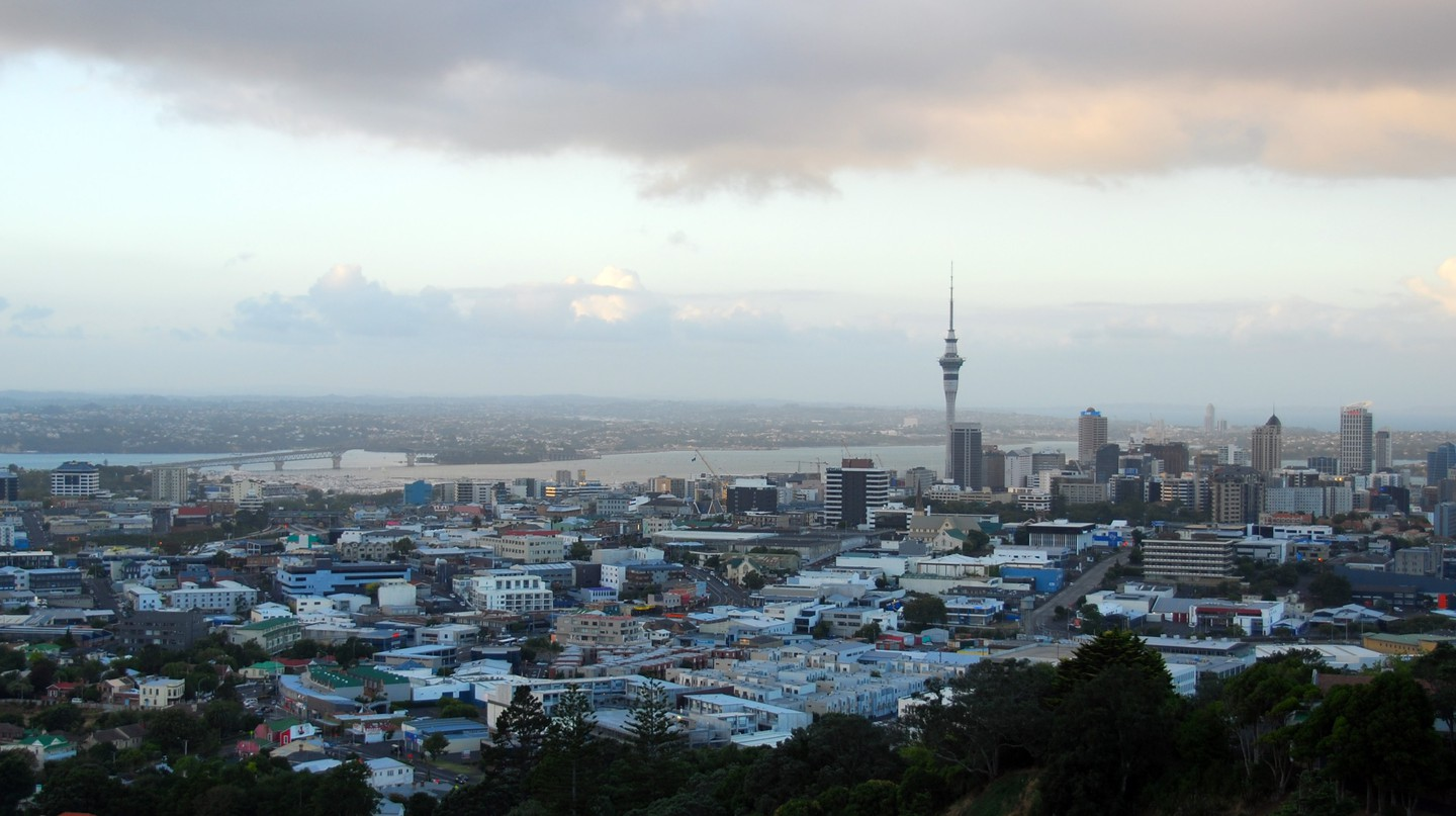 Auckland is home to almost 1.6 million people.