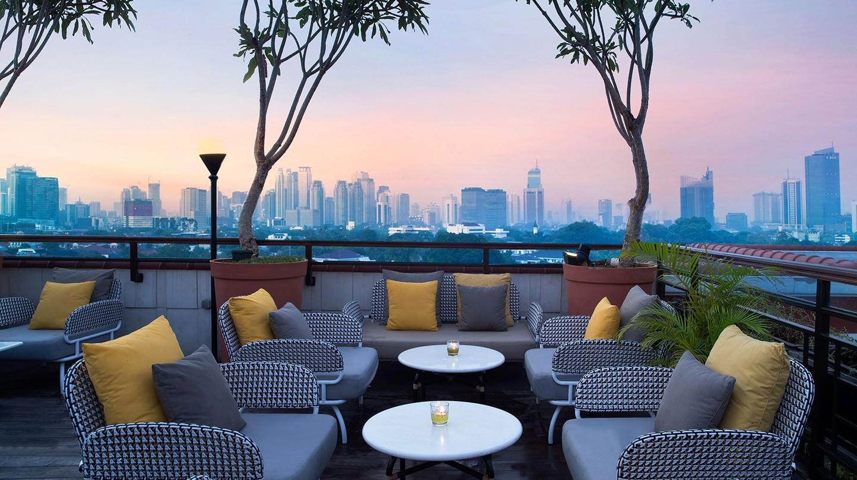 La Vue rooftop bar