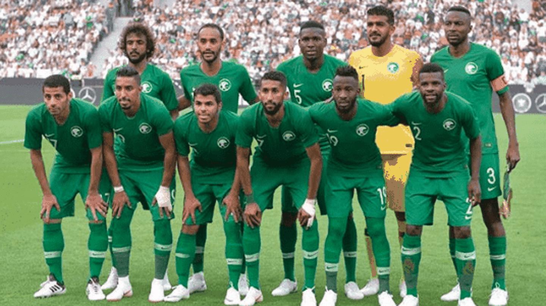 The Saudi national tootball team