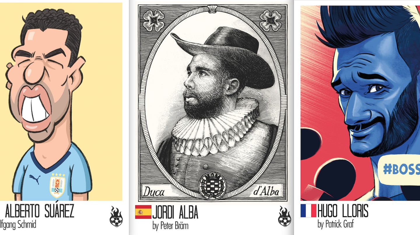 World Cup Stickers Get an Abstract Alternative