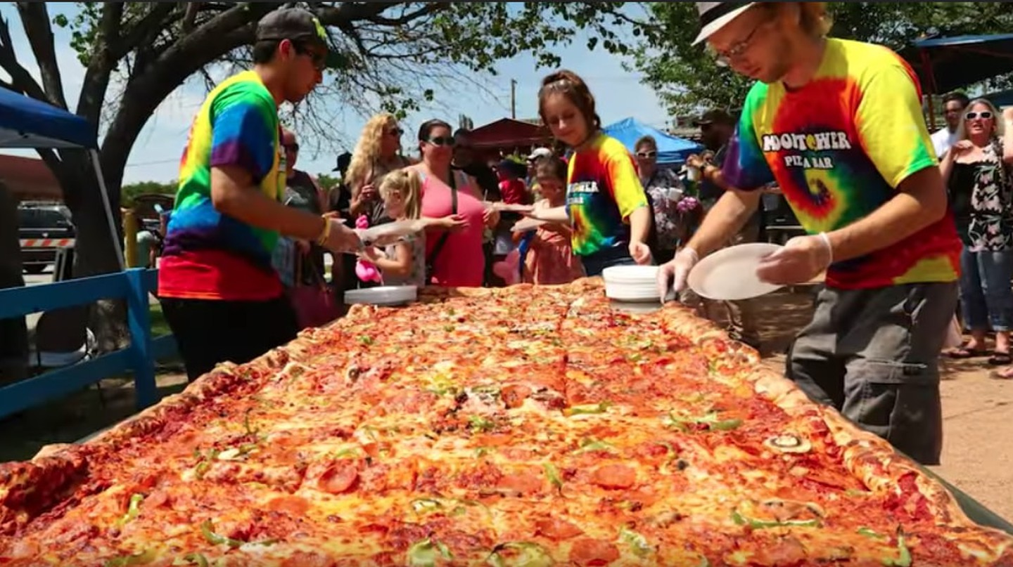 The World's Largest Commercial Pizza is Now Available for Order