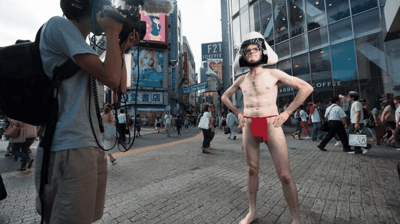 The 'famous' Onigiri Man