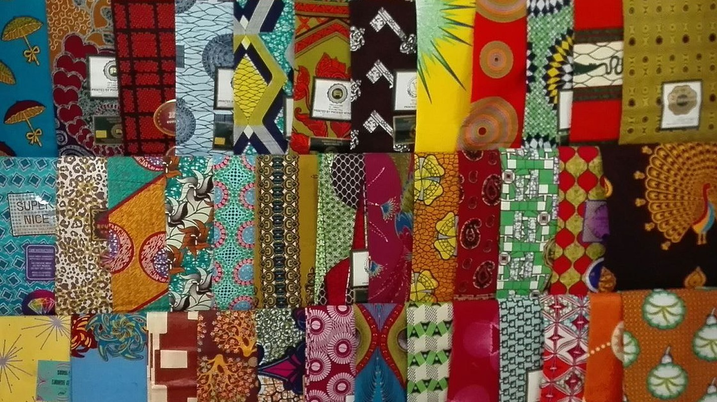Traditional African fabrics