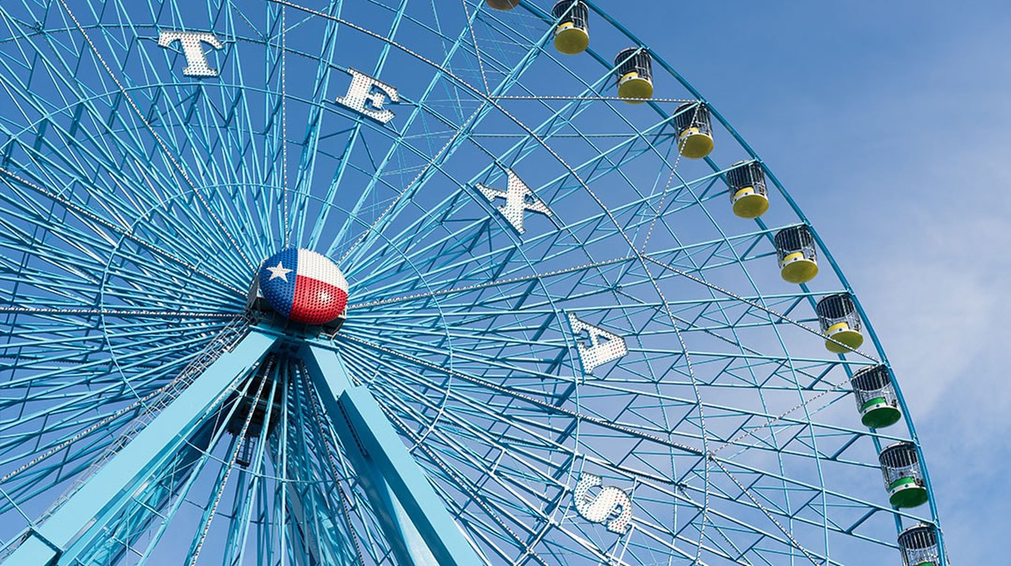 The Ferris Wheel is an iconic ride at the State Fair of Texas