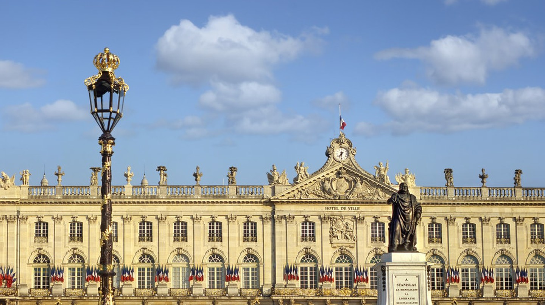Town hall of Stanislas Square in Nancy, France