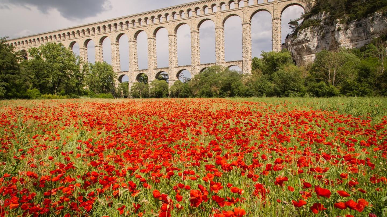 The Roquefavour Aqueduct, France