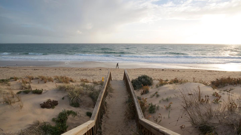 A stunning winter's day at Maslin Beach, South Australia