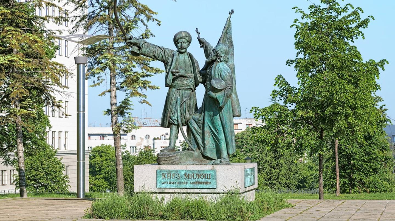 Milos Obrenovic statue, Belgrade