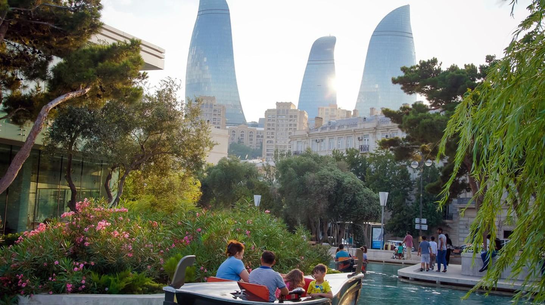 Mini Venice in Baku