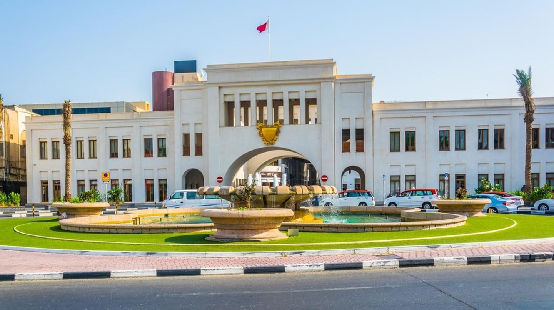 Bab Al Bahrain Square in Manama