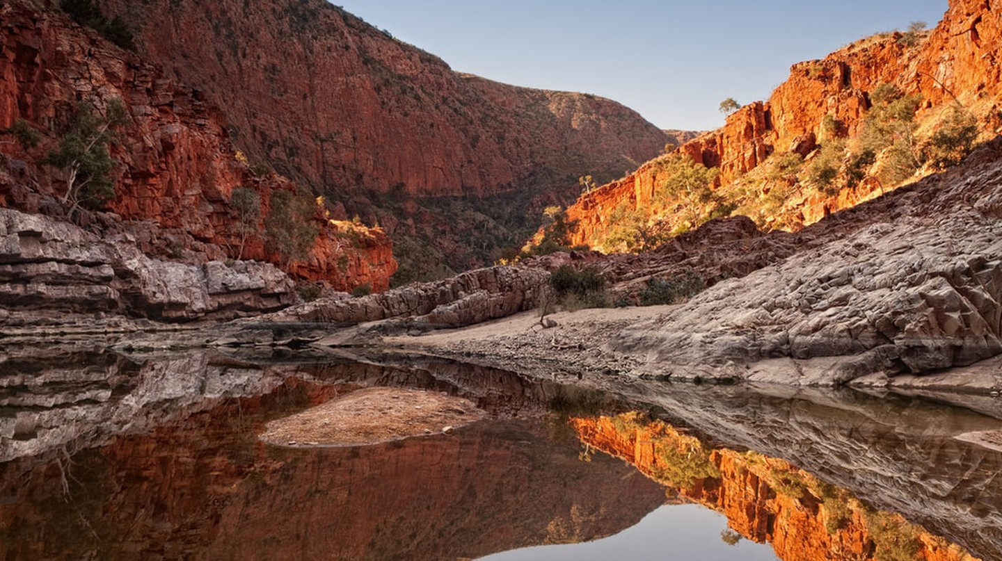 Ormiston Gorge in West MacDonnell National Park