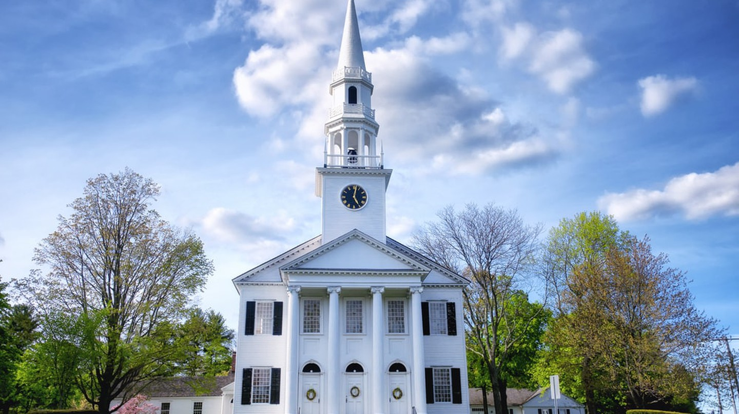 The historic first congregational church of Litchfield, Connecticut