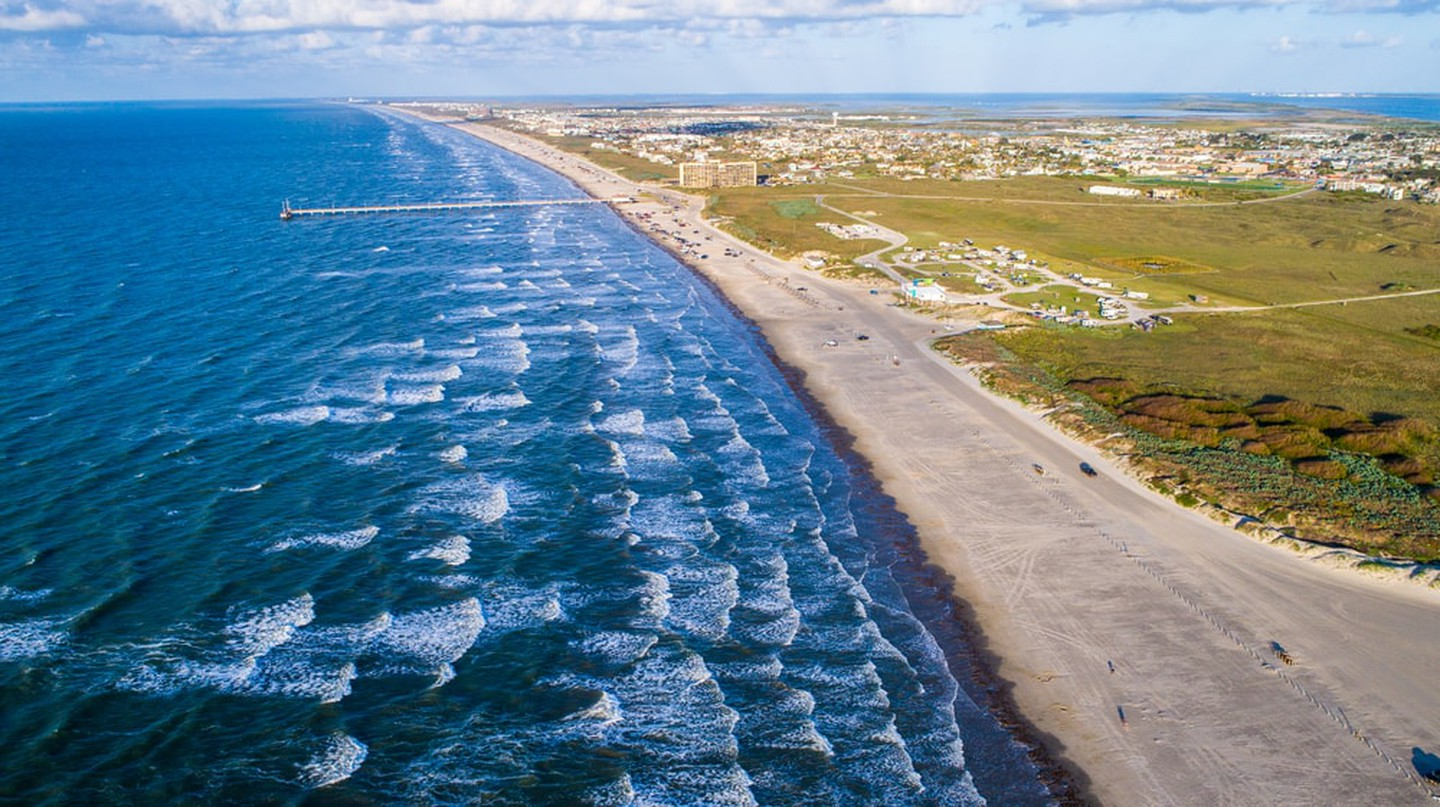 Padre island, Port Aransas, Texas