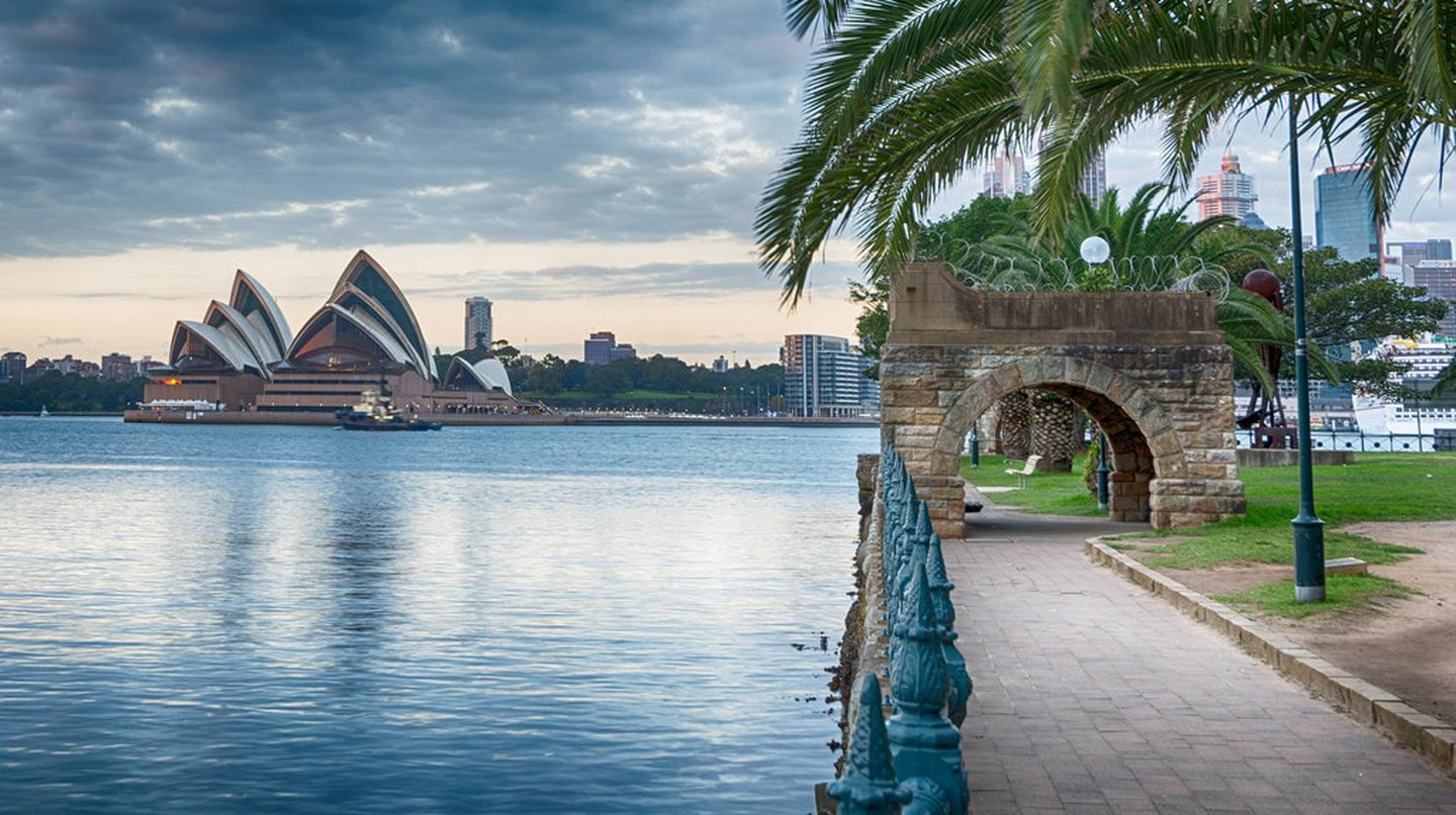 Sydney Harbour foreshore in Kirribilli