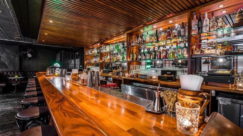 The bar at 81LTD, Liverpool